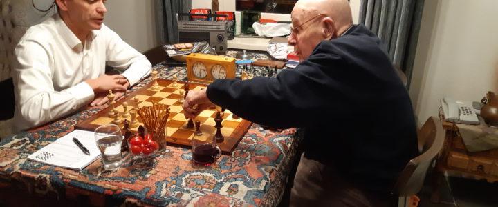Eerste ronde rapidschaak (12-11) en 9e ronde interne competitie