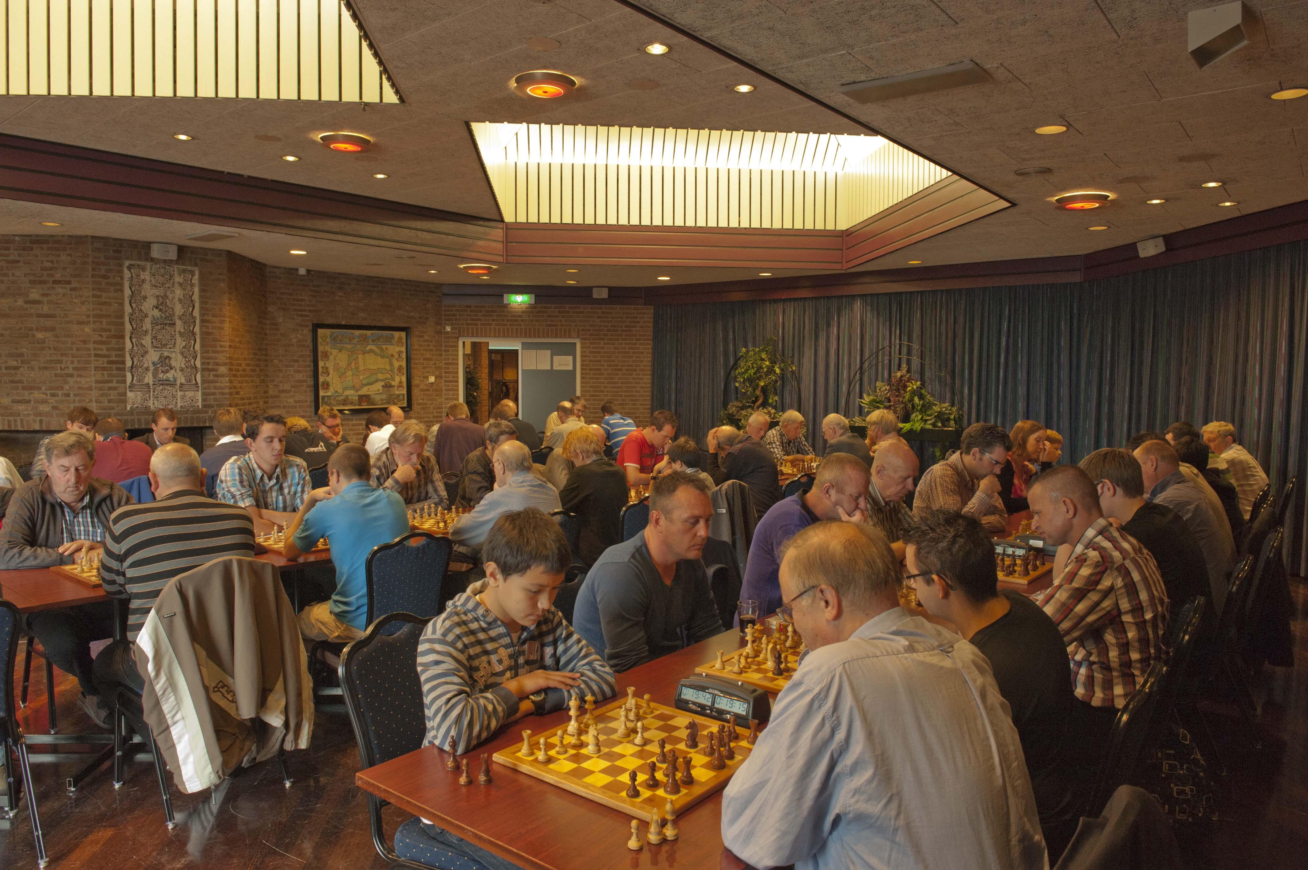 Remco Sprangers winnaar 29e Open Rapidkampioenschap Giessenburg