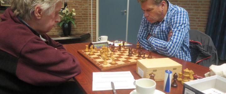 Verslag eerste ronde interne competitie