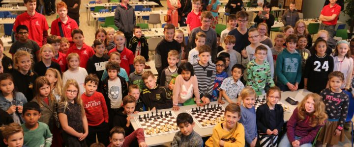 Jeugd Giessen en Linge actief op 3e Open Meerkerks schaaktoernooi