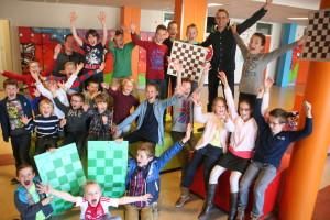 Schaakschool, een gezellige club
